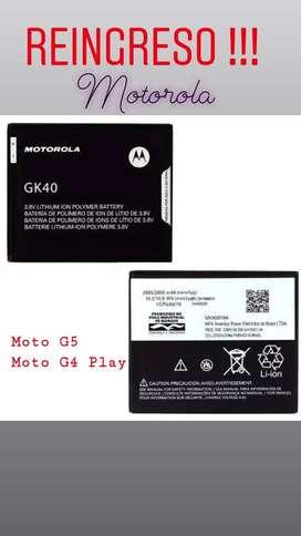 Batería ORIGINAL  MOTOROLA  GK40 para Moto g5  o Moto G4 Play