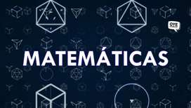 MATEMÁTICA ONLINE! para primaria, secundaria y universidades