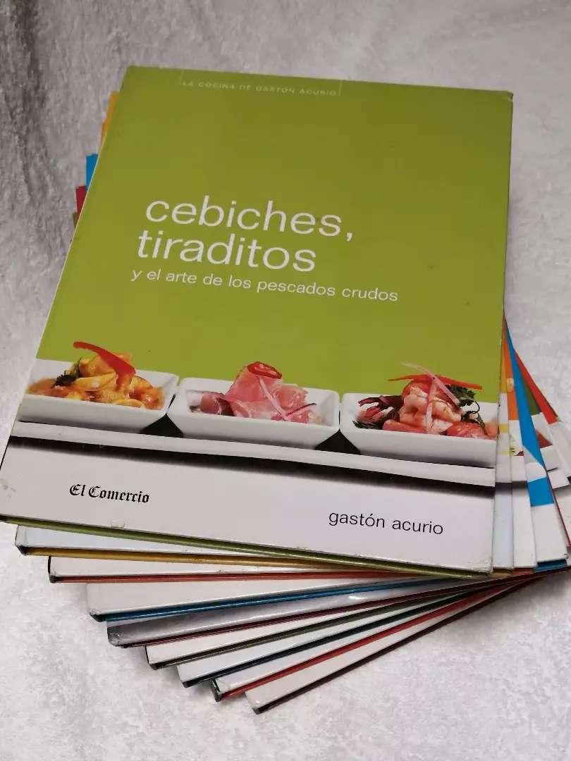 """Colección de Libros """"La Cocina de Gaston Acurio"""" 0"""