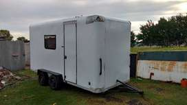 Trailer tipo casa rodante.  Impecable . Se vende. Valor $ 70.000.