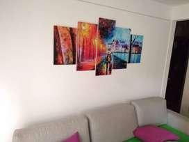 Hermosos cuadros decorativos modernos para el hogar