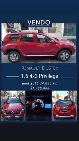 Renault Duster 2015  1.6 4x2 Privilege