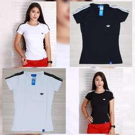 Camisetas Tela Fria Dama Talla M