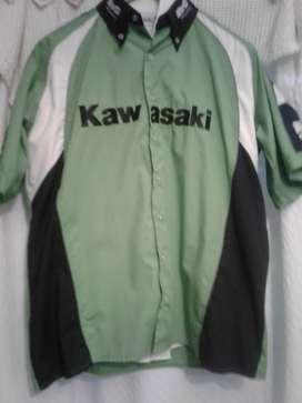 camisas originales trill yamaha kawasaki talle l