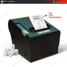 Impresora Factura Termica Recibo Logic Control Lr2000 USB SERIAL Corte Automático