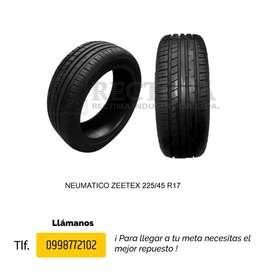 LLANTAS 225/45 R17 ZEETEX