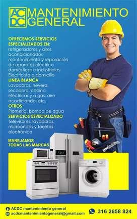 Repaciones lavadoras