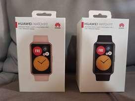 Huawei Watch FIT - Nuevo Sellado - Negro - Rosado