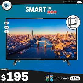 "Smart TV RCA 32"" HD + Soporte de pared GRATIS"