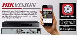 Kit de Dvr Hickvision Disco 500gb 4 Camaras Ir