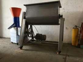 Mezcladoras Industriales Polvos Carnes alimentos de animales peletizadora molino pulverizador deshidratador caldera