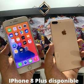 Iphone 8 Plus de 64gb disponible en color dorado
