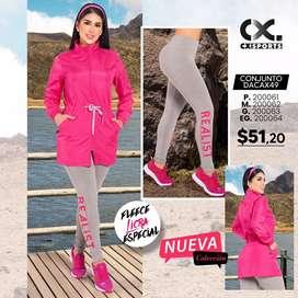 Hermoso Conjunto Dacax49 Fleece Licra Especial
