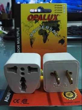 Adaptador Enchufe Multiple Plano Op603 A3 Opalux