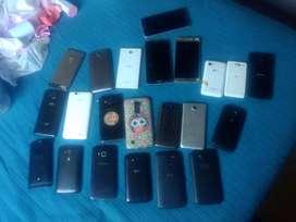 Lote de celulares para reparar o repuesto