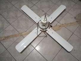 Vendo ventilador d techo ...está directo