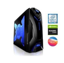 PC Intel i7 macOS para Edicion Streaming Cinema 4D Adobe iMac 5K Macbook Pro SSD NVidia Quadro