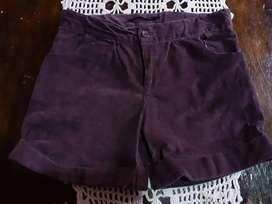 Shorts corderoy para nena
