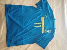 Camiseta Brasil 2012, Neymar.