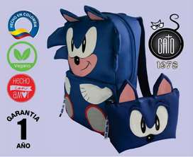 Morral Sonic+ cartuchera
