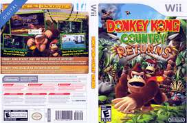DonkeyKong Country Returns Wii