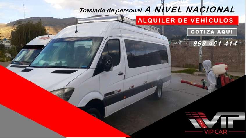 ALQUILER DE VAN EN HUANCAYO 0