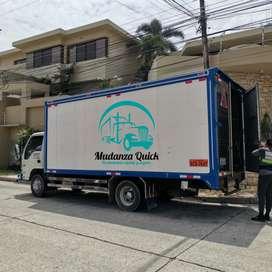 Camion para trasteo fletes y mudanzas Guayaquil profesionales