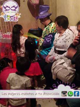Recreacionistas para fiestas infantiles show de titeres sketch de payasos rondas infantiles juegos dinamicas
