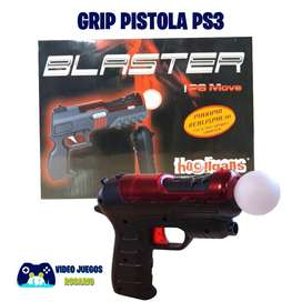 Grip Pistola para Ps Move