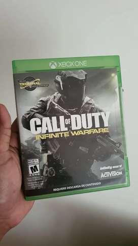 Juego Xbox one Call of Duty Infinite Warfare