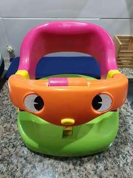 Baño Silla Bañador Adaptador Bañera Bebé