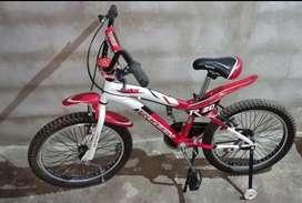 Bicicleta Raleigh rodado 20 impecable sin uso