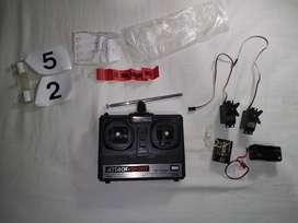 Kit Futaba de Radio control para aeromodelismo de dos canales