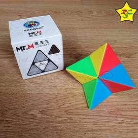 Mastermorphix 2x2 Pyraminx Mr M Cubo Rubik Pyramorphix ShengShou