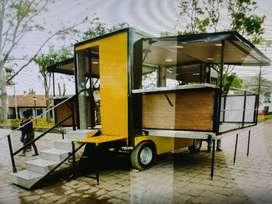 Food Truck/trailer Abatible Nuevo, Area De 25 Mts Abierto!