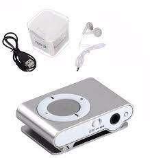 Reproductor Mp3 Clip Usb Soporta 16 Gb Auricular Cargador