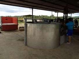 Secadoras de granos 15 quintales en acero inoxidable 304