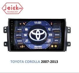 "Nueva Radio Toyota Corolla 2007 - 2008 - 2009 - 2010 - 2011 - 2012 - 2013 Android 9"""