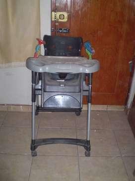 silla de comer para niños