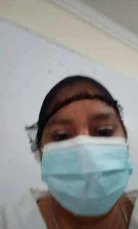 Doy mis servicios de niñera o enfermera