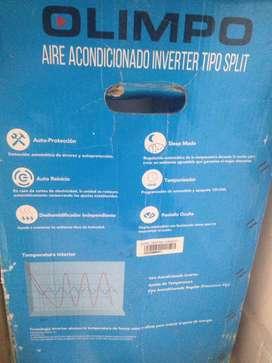 Aire acondicionado nuevo en caja marca olimpo 12000btu split