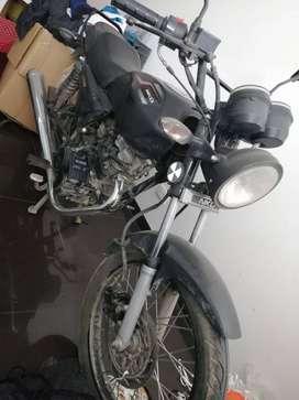 Moto AKT - NKD 125 - Negra
