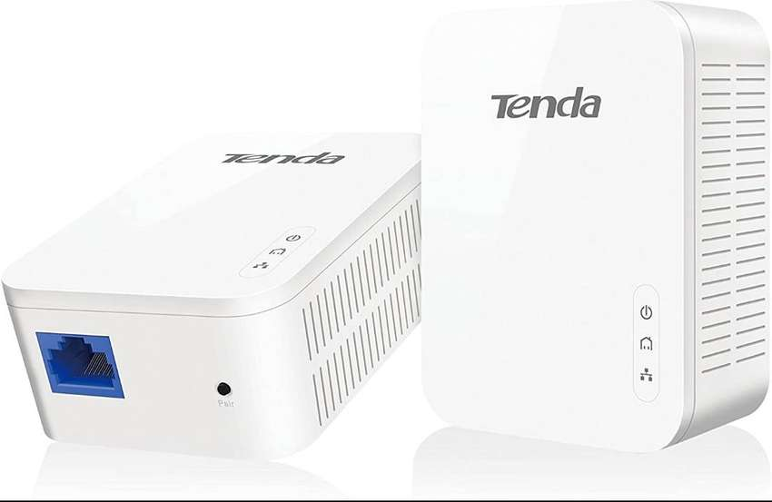 Tenda Av1000 1 Puerto Gigabit Powerline Adapter Hasta 1000m 0