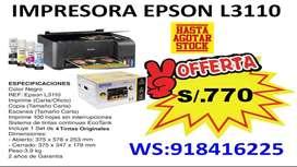 Impresora Epson L3110