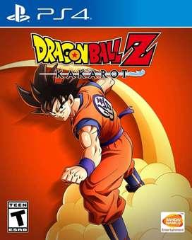 Dragon Ball Z: Kakarot Nuevo y Sellado PS4