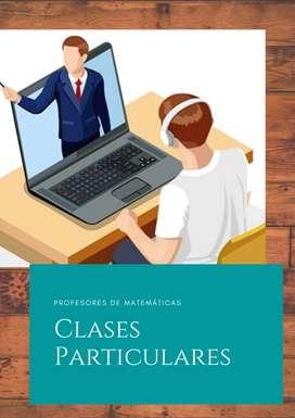 Clases Particulares.- Matemáticas (Todos los niveles)