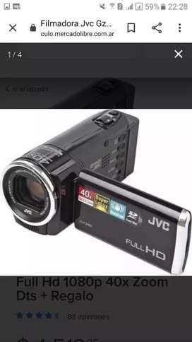 Vendo filmadora jvz hd