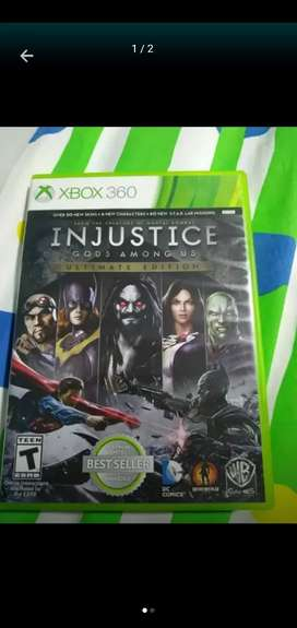 Injustice Ultimate edition como nuevo para Xbox one o 360 negociable