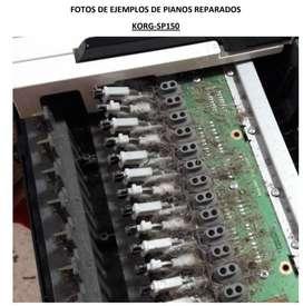 Reparo instrumentos musicales pianos órganos y sintetizadores electrónicos
