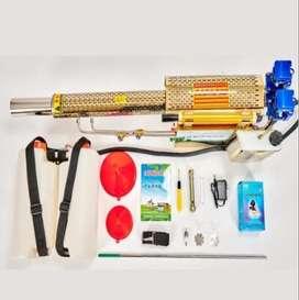 Esterilizador y fumigador de alta potencia industrial. Máquina de desinfección por pulverización antiepidémica